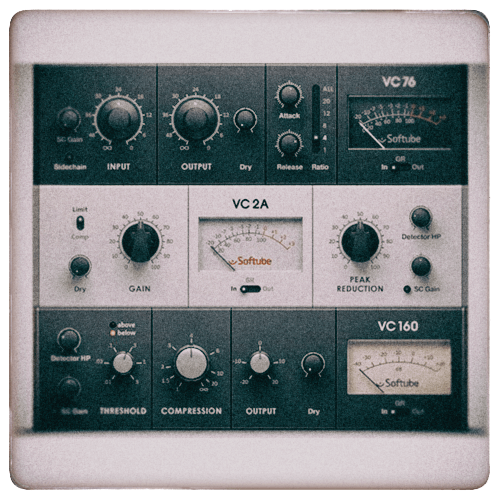 Native instruments - Vintage Compressors (by Softube)